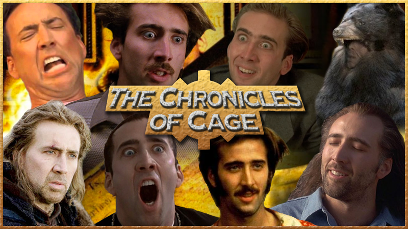 The Chronicles of Cage: Vampire's Kiss