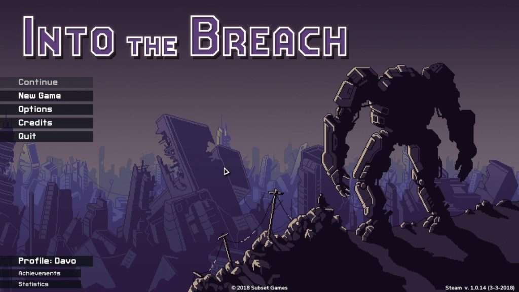 First Impressions: Into the Breach